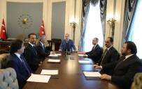 İBRAHİM KALIN - Cumhurbaşkanı Erdoğan, F1 CEO'sunu Kabul Etti