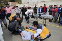 YANGIN TATBİKATI - Denizli Büyükşehir Ulaşım A.Ş.'Den Deprem Ve Yangın Tatbikatı