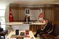 MURAT ÖZTÜRK - Derinkuyu Kaymakamı Öztürk,  Rektör Bağlı'yı Ziyaret Etti