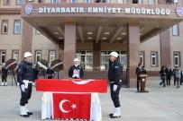 DICLE ÜNIVERSITESI - Diyarbakır'daki Patlama Şehit Olan Memur İçin Tören Düzenlendi