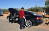 GAZİANTEP HAVALİMANI - Dur İhtarına Uymayan Araçtan Polise Ateş Açıldı