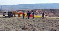 MUSTAFAPAŞA - Düşen Balonun Pilotu Serbest Bırakıldı