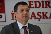 TRAKYA - Edirne CHP Milletvekili Gaytancıoğlu Açıklaması 'Buğday Tarlalarında Sararma Var'