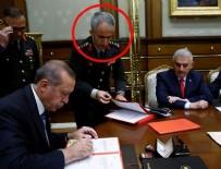 YÜKSEK ASKERİ ŞURA - Erdoğan'a YAŞ kararlarını sunan albay generalleri fişlemiş