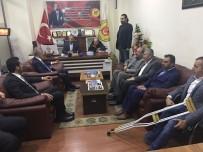 MUŞLU - İş Adamı Ergün'den MGC'ye Ziyaret
