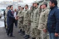GAZİLER DERNEĞİ - Kaymakam Dundar'dan Askere Ziyaret
