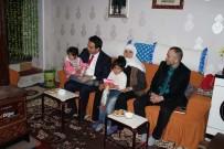 KıBRıS - Kaymakam Dundar'dan Şehit Ve Gazi Ailelerine Ziyaret
