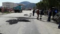 ONARIM ÇALIŞMASI - Kırkağaç'da Yollara Asfalt Bakımı