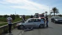YUSUF ŞAHIN - Manavgat'ta Trafik Kazası Açıklaması 1 Yaralı
