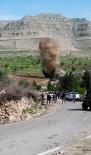 Mardin'de karayoluna döşenen patlayıcı imha edildi