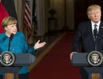 ANGELA MERKEL - Merkel ile Trump telefonda görüştü