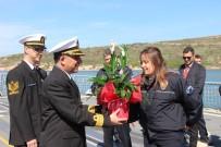HEYBELIADA - Milli Gemi TCG Heybeliada Polisleri Ağırladı