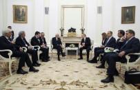VLADIMIR PUTIN - Putin Açıklaması 'ABD'nin Şam'ın Güneyini Vuracağına Dair Duyum Aldık'