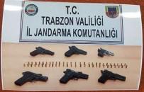 YEMIŞLI - Trabzon'da Silah Kaçakçılarına Operasyon