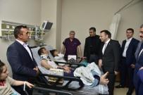CUMALI ATILLA - Vali Aksoy Patlamada Yaralanan Vatandaş Ve Polisleri Ziyaret Etti