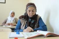 TAŞKıRAN - Yaşlı Kadınlar Okuma Ve Yazma Öğreniyor