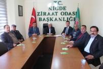 Ziraat Odası Koordinasyon Kurulu Toplantısı Yapıldı