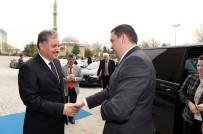 MAKEDONYA - 12 Ülkenin Temsilcisi Başkan Çakır'ı Ziyaret Etti