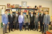 SABAH GAZETESI - Abhazlar'dan Cumhurbaşkanı Başdanışmanı Yalçın Topçu'ya Ziyaret