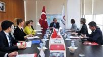 ENFORMASYON - AGİT Referandum Gözlem Heyetinden BYEGM'ye Ziyaret
