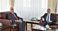 ATATÜRK ÜNIVERSITESI - Ağrı İbrahim Çeçen Üniversitesi Rektörü Prof. Dr. Abdulhalik Karabulut'tan, Rektör Çomaklı'ya Ziyaret