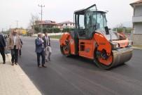 AKSAKAL - Akyazı'da Asfalt Serim Çalışmaları Sürüyor