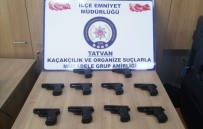 RUHSATSIZ SİLAH - Bitlis'te 10 Adet Ruhsatsız Silah Ele Geçirildi