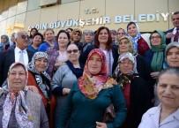 MEHMET DEMIR - Çakırbeyli Pazarı Kadın Üreticilerinden Başkan Çerçioğlu'na Teşekkür Ziyareti