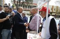 KAZIM ÖZALP - Çavuşoğlu 'Hayır' Standını Ziyaret Etti