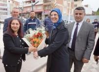 SEMA RAMAZANOĞLU - Eski Bakan Ramazanoğlu Sarıgöl'de