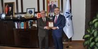 MİLLİ GELİR - ETÜ Maliye Bakanı Naci Ağbal'ı Ağırladı