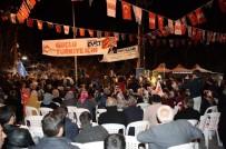 KÜÇÜK ESNAF - Gümrük Ve Ticaret Bakanı Bülent Tüfenkci, Konaklılarla Bir Araya Geldi