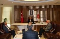 ALI RıZA SELMANPAKOĞLU - Hacıbektaş Belediye Başkanı Selmanpakoğlu, Rektör Bağlı'yı Ziyaret Etti