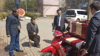 Kaymakam Alibeyoğlu'ndan Engelli Boyacıya Araba Jesti