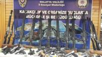 RUHSATSIZ SİLAH - Malatya'da Silah Kaçakçılığına 10 Tutuklama