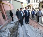 KALDIRIMLAR - Osmangazi'de Kaldırımlar Yenileniyor