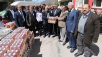 Osmaniye'de Sirke Sineğine Karşı Elma Sirkesi Dağıtıldı