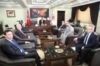 Rektör Coşkun'dan Yeni Başsavcıya Hayırlı Olsun Ziyareti