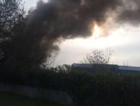 KİMYASAL MADDE - Sanayi bölgesinde patlama