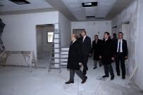 Vali Ustaoğlu, ASP İl Müdürlüğü Binasında İncelemelerde Bulundu