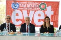 TAŞERON İŞÇİ - Yozgat'ta Hak-İş Referandum Da 'Evet' Diyecek