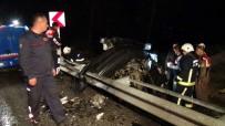 BOLAT - Antalya'da Feci Kaza Açıklaması 1 Ölü, 1'İ Ağır 2 Yaralı