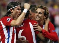 ATLETICO MADRID - Atletico Madrid, Sahasında Leicester City'i Mağlup Etti