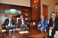SELAHATTIN BEYRIBEY - Bakan Arslan Ve Bakan Akdağ Kars'ta