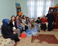 UĞUR POLAT - Bakan Tüfenkci'nin Eşi Esra Tüfenkci Öksüz İkiz Kardeşlerin Yüzünü Güldürdü