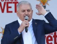 ADALET SARAYI - Başbakan Yıldırım Bilecik'te konuştu