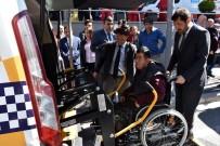 ENGELLİ VATANDAŞ - Beşiktaş'ta 'Engelsiz Taksi' Uygulamasının Provası Yapıldı