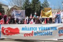 DEMOKRAT PARTI - Bilecik'te 'Türkiye İçin Evet' Yürüyüşü