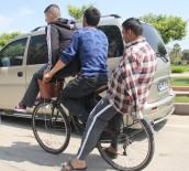 FUZULİ - Bisikletle Tehlikeli Yoluculuk