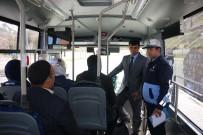 HALK OTOBÜSÜ - Bitlis'te Halk Otobüsleri Denetlendi
